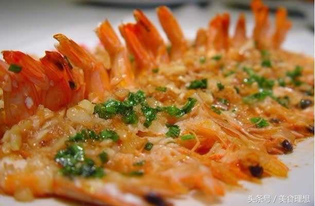 大蝦的另類高大尚做法:蒜蓉開邊蝦。看著就有食慾。味道更是一絕 - 每日頭條