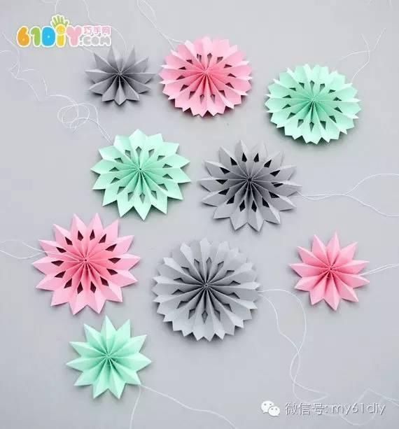手工製作漂亮簡單的裝飾剪紙花朵 - 每日頭條