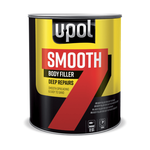 U-POL Smooth 7 body filler deep repairs
