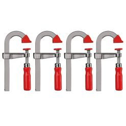 BESSEY LMU STEP OVER CLAMP PACK OF 4
