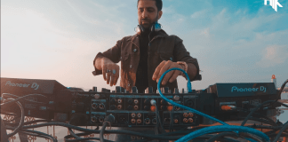dj nyk perform live at udaipur during sunset