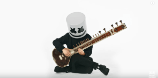 Watch : How To Play Sitar With Marshmello