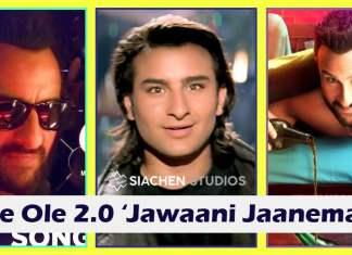 saif ali khan Jawaani Jaaneman ole ole song yeah dillagi