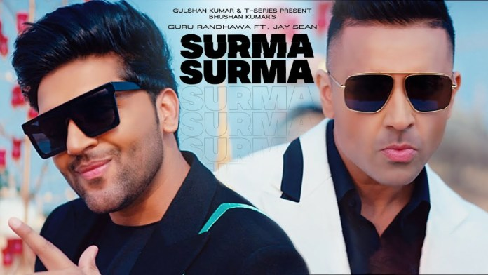 Guru Randhawa Releases New Song 'SURMA SURMA' Ft. Jay Sean