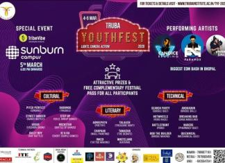Sunburn Campus Lights Up Truba Youth Fest 2020 In Bhopal
