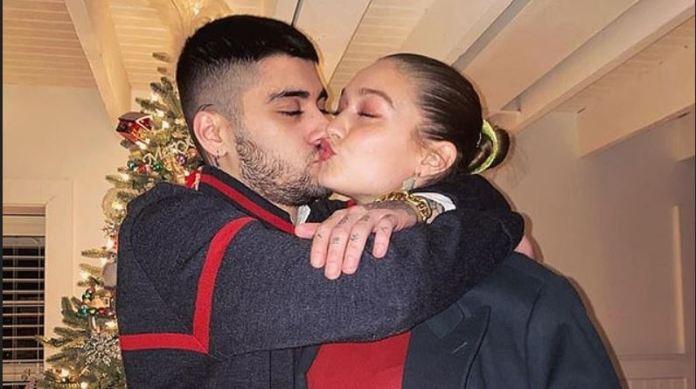 Gigi Hadid Shares A Kissing Photo With Boyfriend Zayn Malik