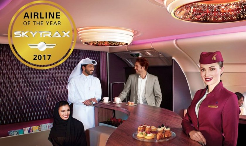 الخطوط القطرية افضل شركات الطيران في العالم لسنة 2017