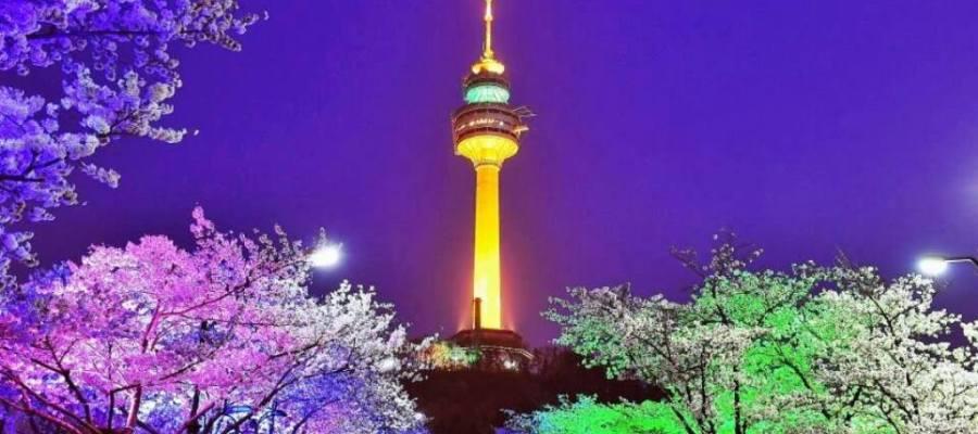 برج إن سولN Seoul - الأماكن السياحية في سيول
