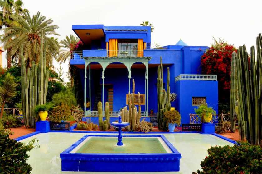 حدائق ماجوريل السياحة في مراكش