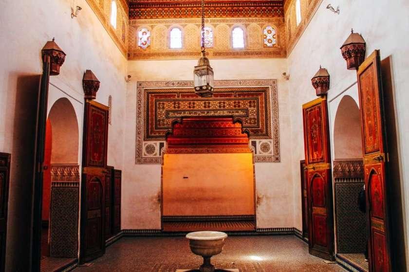 قصر الباهية في مراكش المغرب