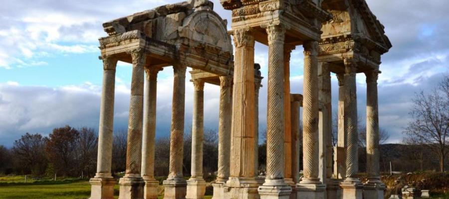مواقع التراث العالمي المدرجة في 2017.. آثار أفروديس في تركيا