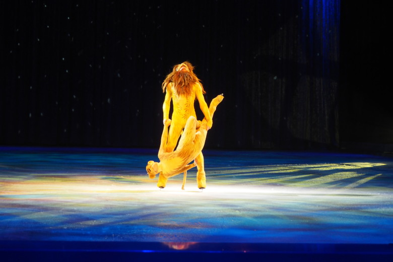 Simba og Nala - Disney On Ice