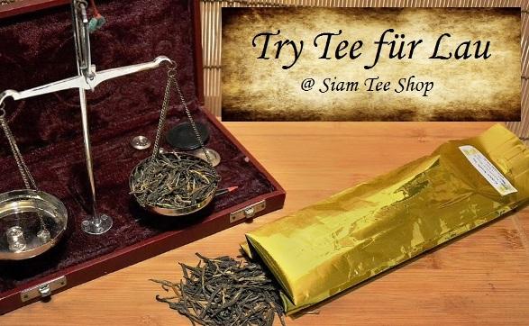 Try Tee für Lau im Siam Tee Shop