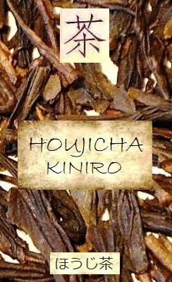 Hojicha Kiniro: nach der Verarbeitung zu grünem Tee gerösteter Sommer-Bancha