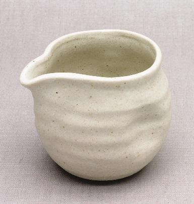 Japanisches Teewasser-Abkühlgefäß, weiß, 380ml