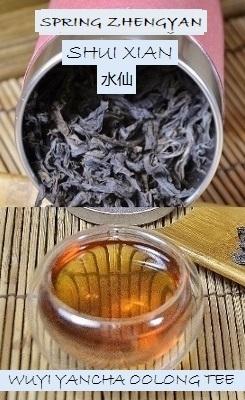 Spring Zhengyan Shui Xian Rock Oolong Tee