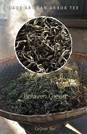 Grüner Tee vom Bolaven-Plateau, Laos