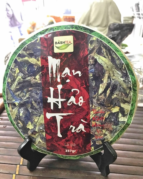 "Ancient Snow Shan ""Big Leaves"" Sheng Pu Erh Tee - große Blätter"