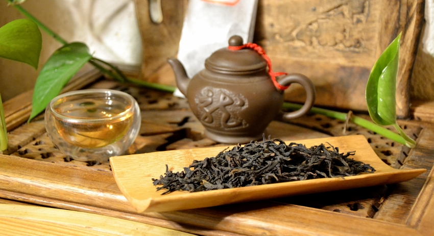 Lao Cong Fan Shu Xiang Dancong Oolong Tea, Xia Hu Mountain, Chaozhou, Fenghuangshan, Guangdong, China