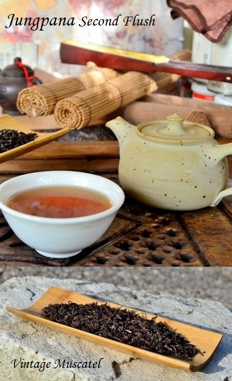 Jungpana Second Flush 2019 Vintage Muscatel : traditionell verarbeiteteter schwarzer Darjeeling-Tee aus der Sommerpflückung des Jungpana-Estates