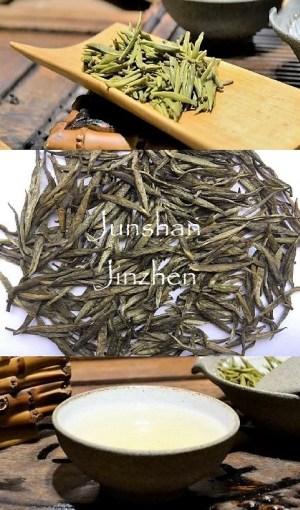 Junshan Jinzhen Gelber Tee von der Insel Junshan