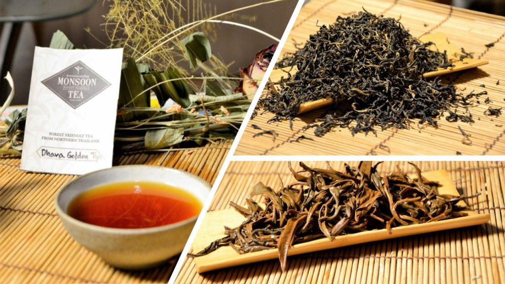 Dhara Golden Tips - tippy (1+1) black tea from northern Thailand