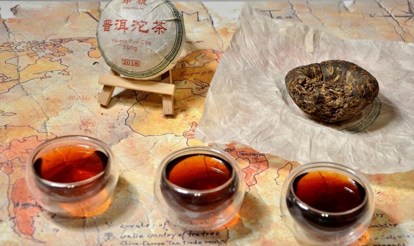 Wookan Shan Tuo Cha Shou Pu Erh Tea