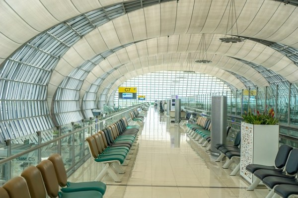L'aéroport international Suvarnabhumi de Bangkok est le plus important de Thaïlande