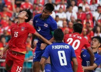 La Thaïlande a gagné sa place en finale du tournoi de football des SEA Games