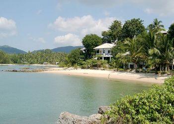 Une plage de l'île de Koh Pha Ngan, dans la province de Surat Thani