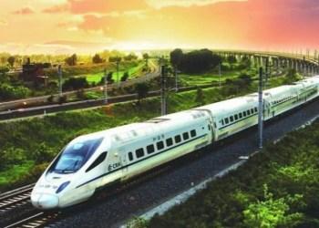 Illustration de la future ligne de train à haute-vitesse entre Bangkok et Nakhon Ratchasima