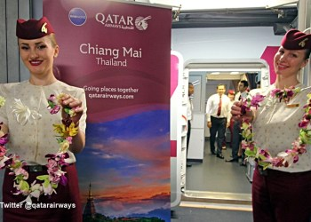 Début des Vols Directs Doha-Chiang Mai avec Qatar Airways