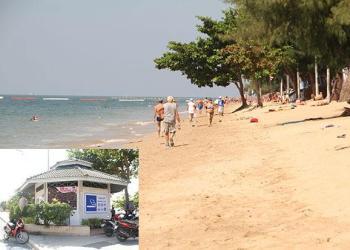 Les Touristes Mécontents de l'Interdiction de Fumer sur une Plage de Pattaya