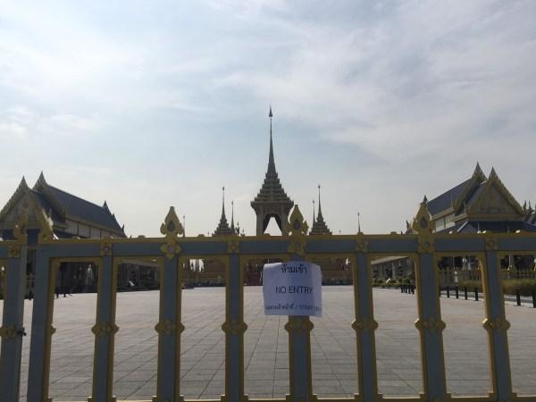 Le démontage du Crématorium Royal sur Sanam Luang à Bangkok devrait durer environ 90 jours