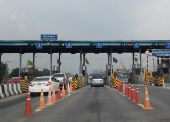 Hausse des tarifs des péages entre Bangkok et Pattaya