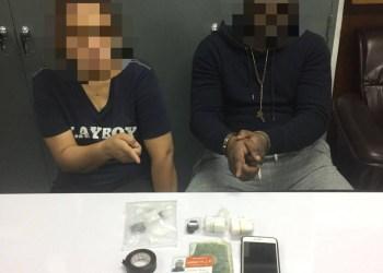 Un nigérian et sa femme thaïe arrêtés pour deal de cocaïne