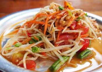 À Krabi la salade Som Tam est la plus chère de Thaïlande