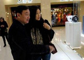 Thaksin et Yingluck Shinawatra aperçus à Singapour