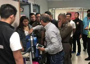 Une passagère affirme s'être fait voler 874000฿ sur un vol Thai Airways