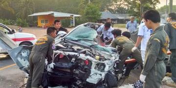 Songkran : le bilan des victimes de la route augmente encore