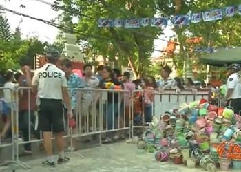 Songkran : 101,5 tonnes de déchets ramassés à Khao San