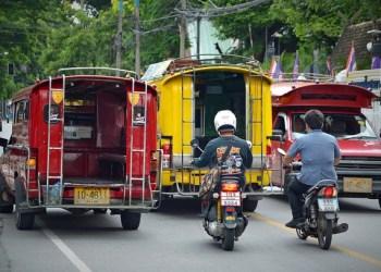 Chiang Mai : des amendes pour les véhicules trop polluants
