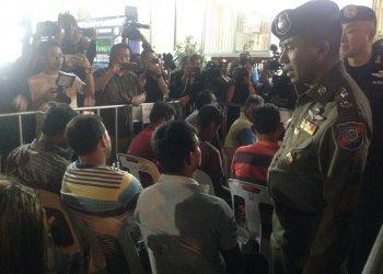 63 étrangers arrêtés lors d'un nouveau raid à travers la Thaïlande