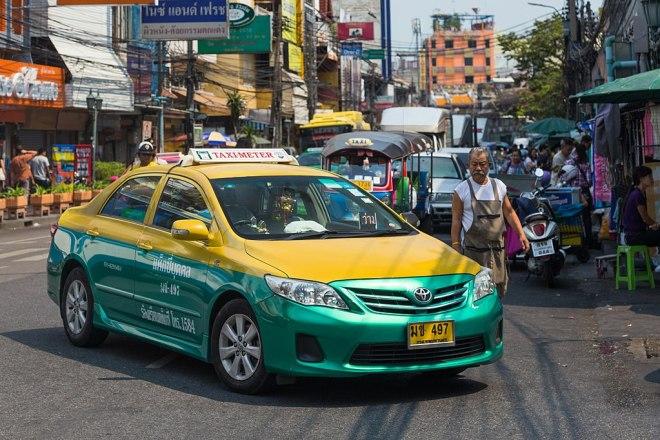 Une liste de conseils pratiques pour prendre le taxi à Bangkok
