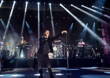 Maroon 5 en concert à Bangkok le 9 mars 2019