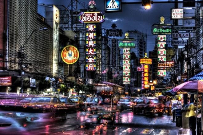 Yaowarat, le quartier chinois de Bangkok