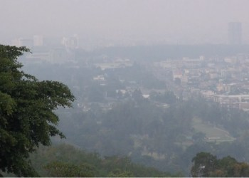 Les fumées des incendies de forêt en Indonésie affectent le sud de la Thaïlande