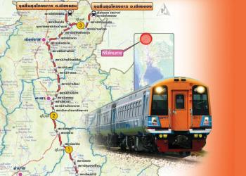 La ligne ferroviaire à double voie dans le nord de la Thaïlande approuvée par le Gouvernement