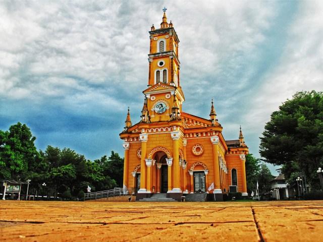 L'Église Saint-Joseph, à Ayutthaya