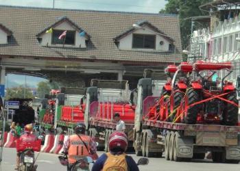 Thaïlande : le commerce transfrontalier continue de croître